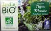 Infusion Thym Menthe fraîcheur tonique Jardin Bio - Product