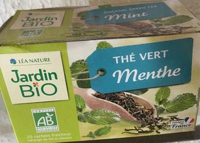 Thé vert menthe Jardin Bio - Product