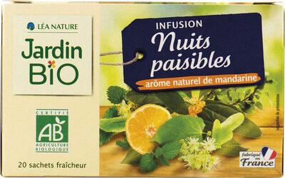 INFUSION NUITS PAISIBLES - Produit - fr