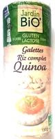 Galette riz complet quinoa - Produit - fr