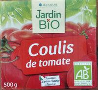 Coulis de tomate Bio 500 g - Jardin BIO' - Produit - fr