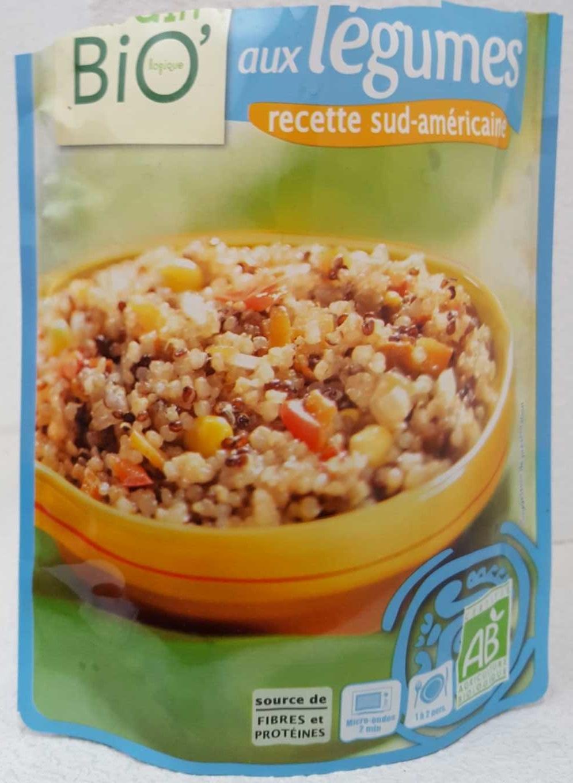 Duo de Quinoa aux Légumes Recette Sud-Américaine - Product - fr