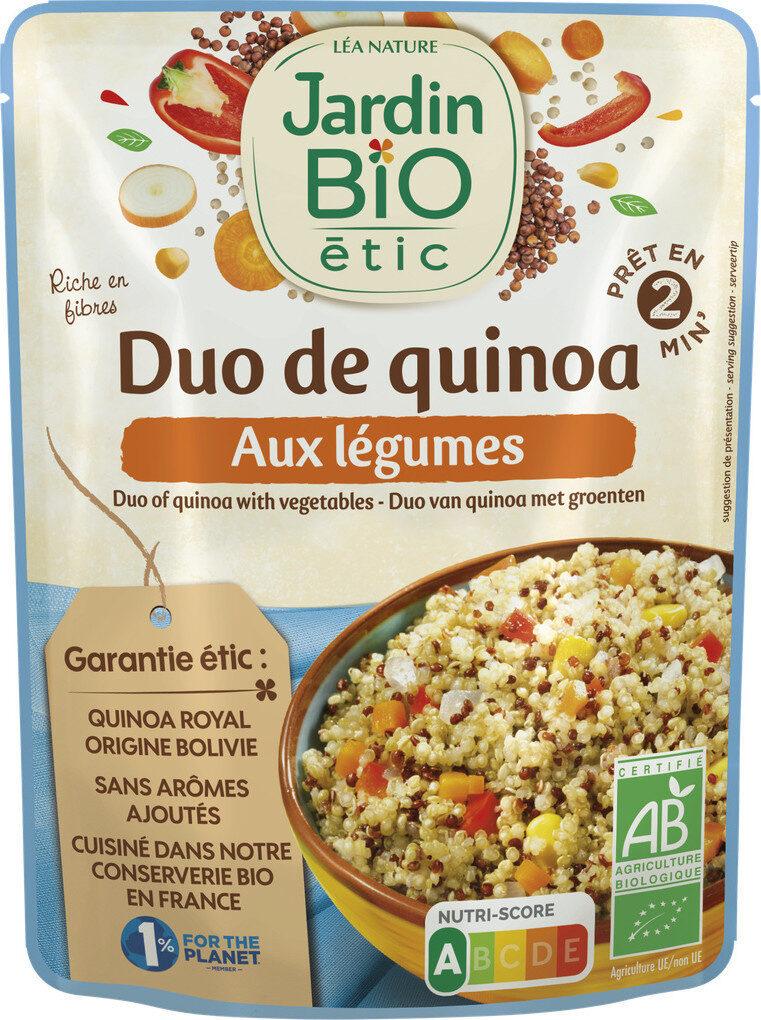 DUO DE QUINOA AUX LEGUMES - Product - fr