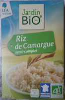 Riz de camargue semi-complet - Product