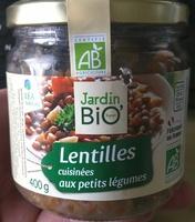 Lentilles cuisinées aux petits légumes - Product