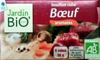 Bouillon cube Boeuf aromates Jardin Bio - Product