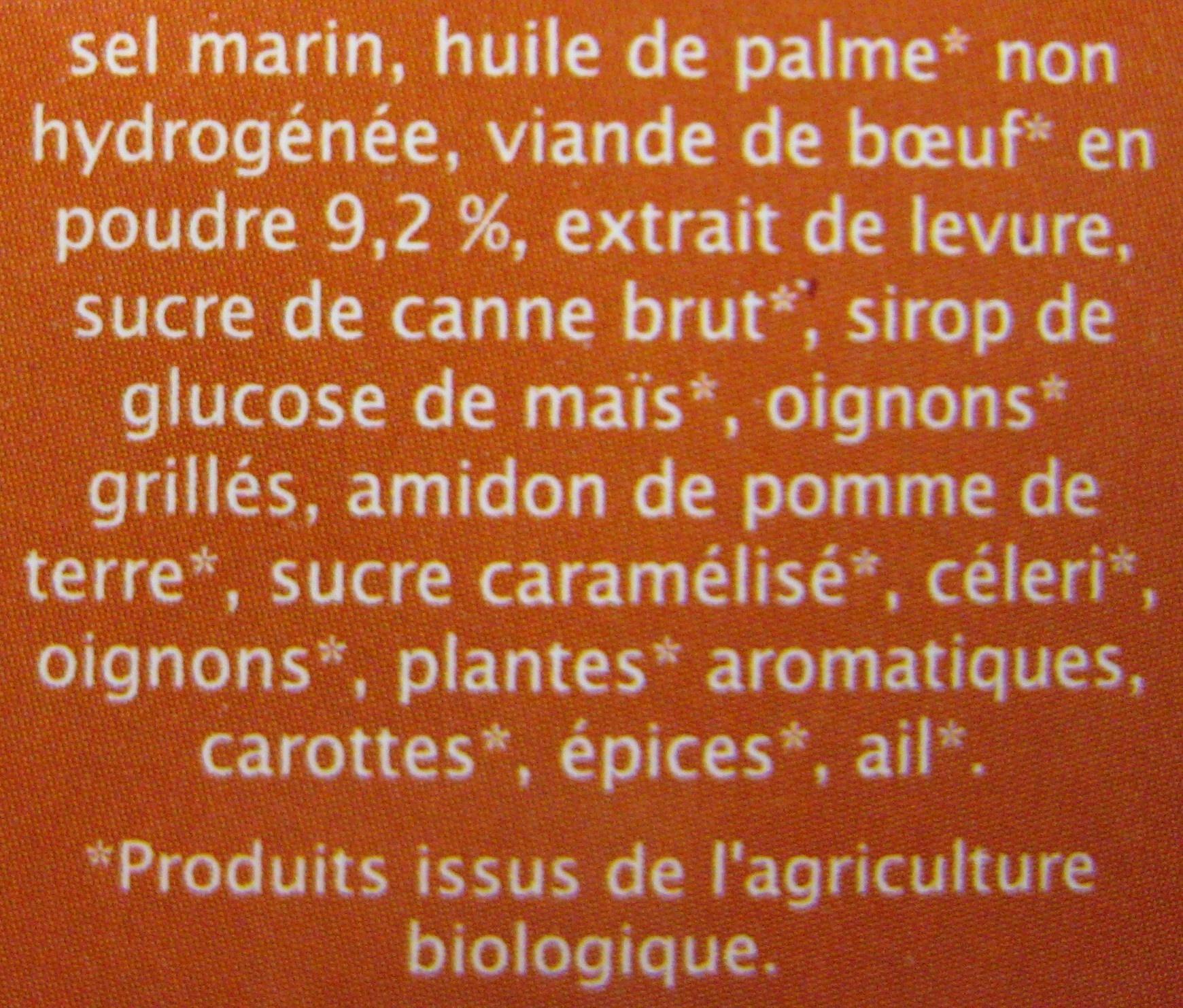 bouillon cube boeuf aromates jardin bio 96 g 8 x 12 g. Black Bedroom Furniture Sets. Home Design Ideas