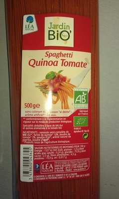 Spaghetti Quinoa Tomate - Produit