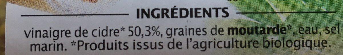 Moutarde à l'ancienne - Ingredients - fr