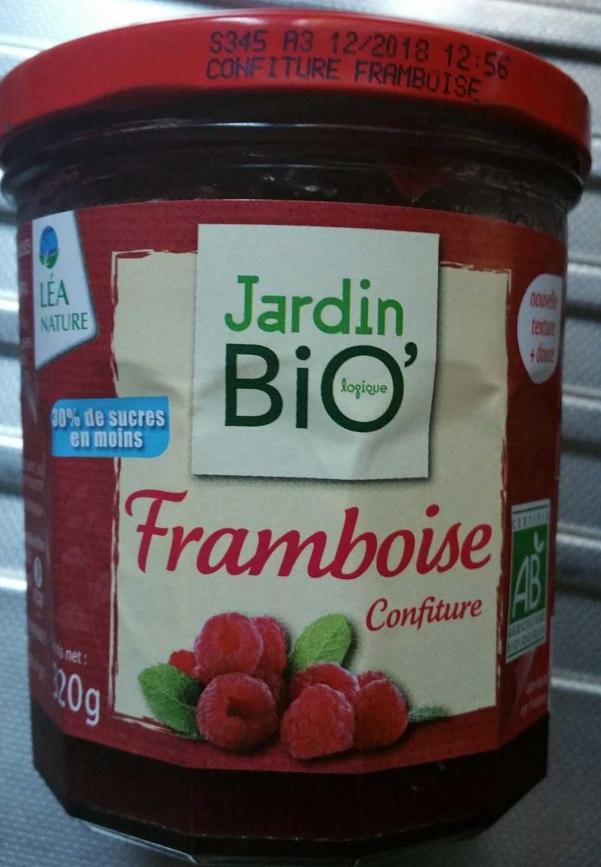 Confiture framboise jardin bio 39 for Jardin bio