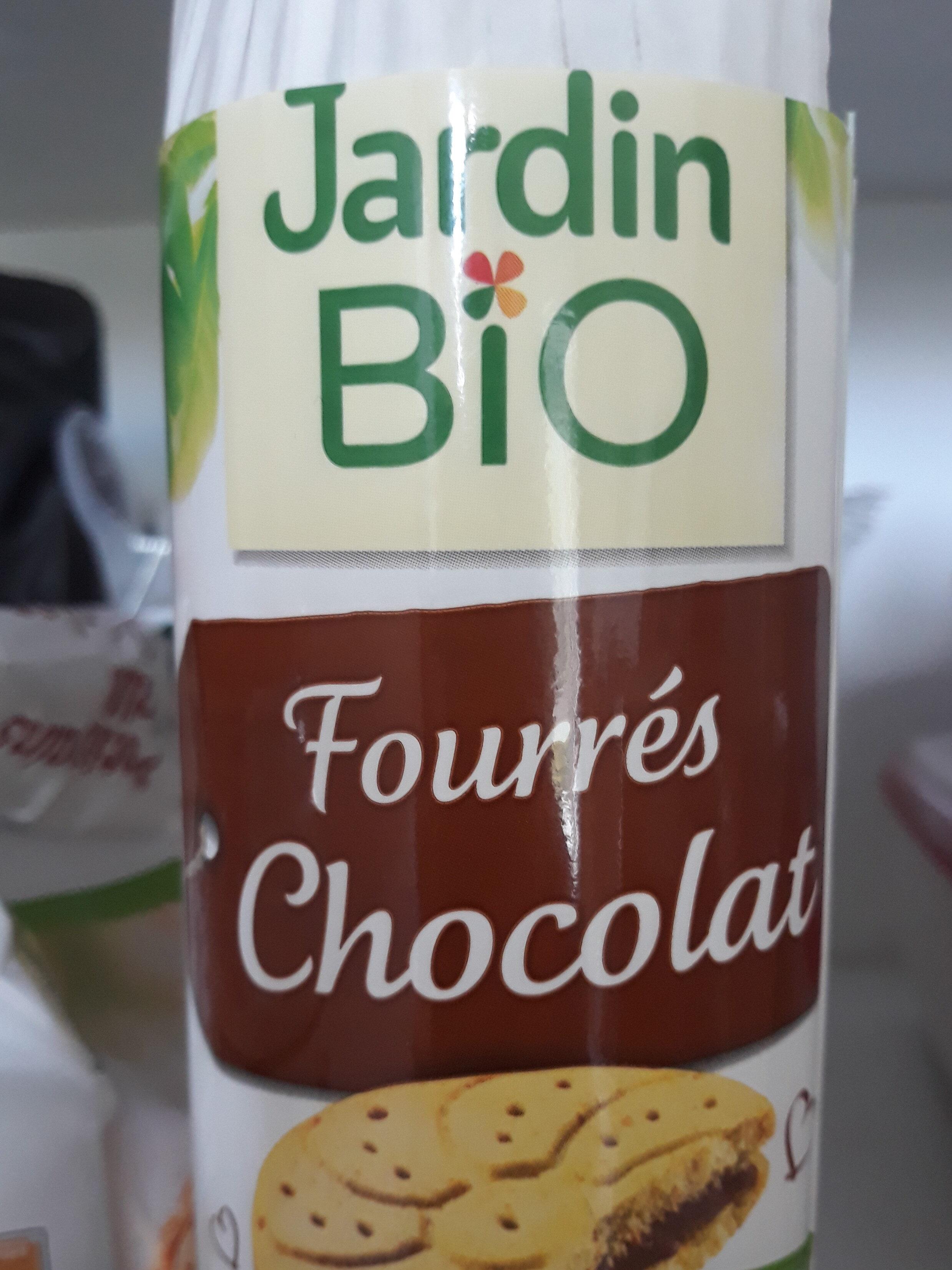 Fourrés chocolat Jardin Bio - Product - fr