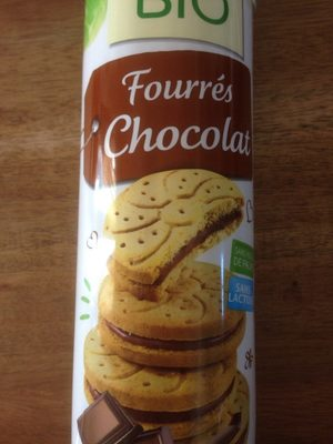 Fourrés Chocolat-Jardin Bio - Produit - fr