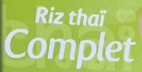 Riz thaï complet - Ingrediënten