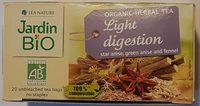 Infusion Digestion légère Jardin Bio - Product