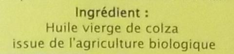 Huile de colza - Ingredients - fr
