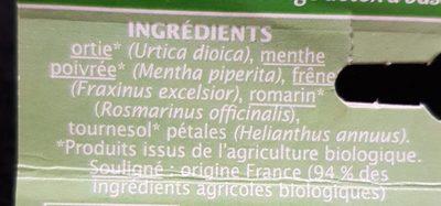 Mélange detox - Ingrediënten