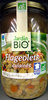 Flageolets cuisinés Jardin Bio - Product