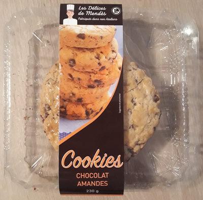 Cookies chocolat amandes - Produit
