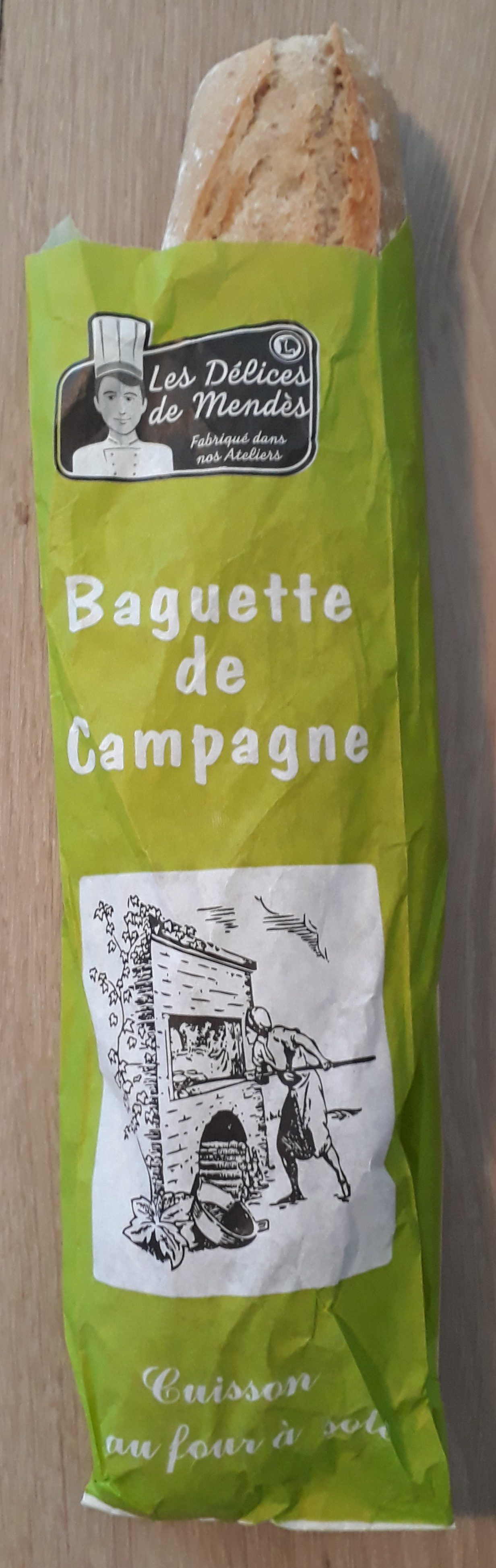 Baguette de campagne - Produit