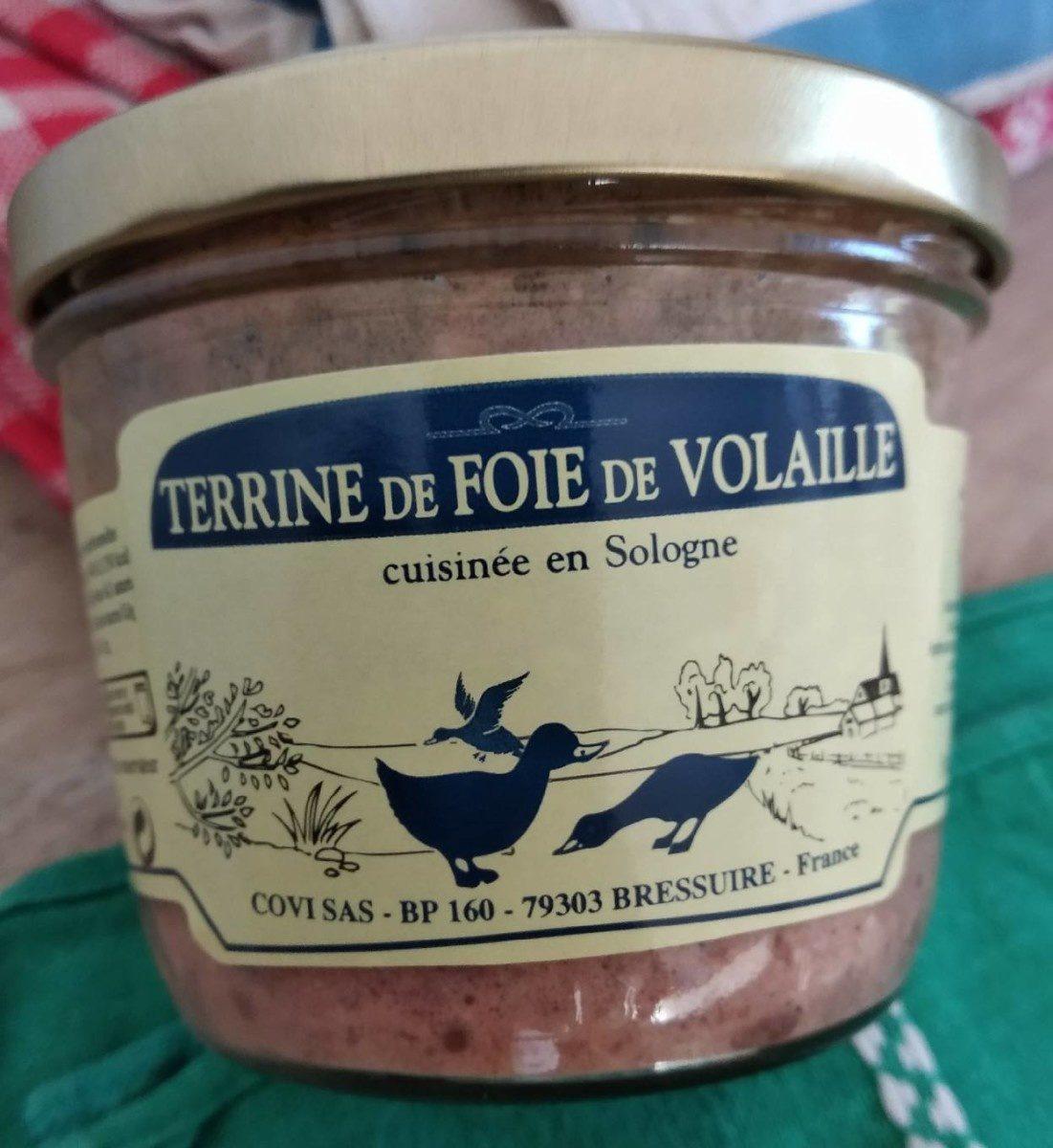 Terrine de Foie de Volaille - Produit