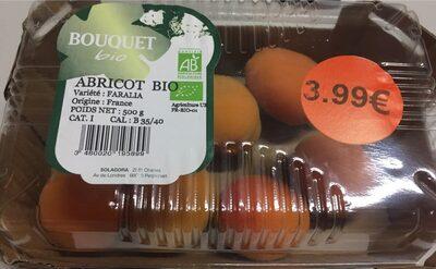 Abricots Bio - Ingrédients