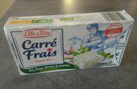 Carré frais ail, fines herbes et échalotes - Produit - fr