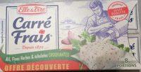 Carré Frais Ail, Fines Herbes & Échalotes Croquantes - Producto