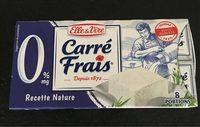 Carré Frais 0% - Product