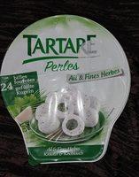Tartare Perles ail & fines herbes - Produit - fr