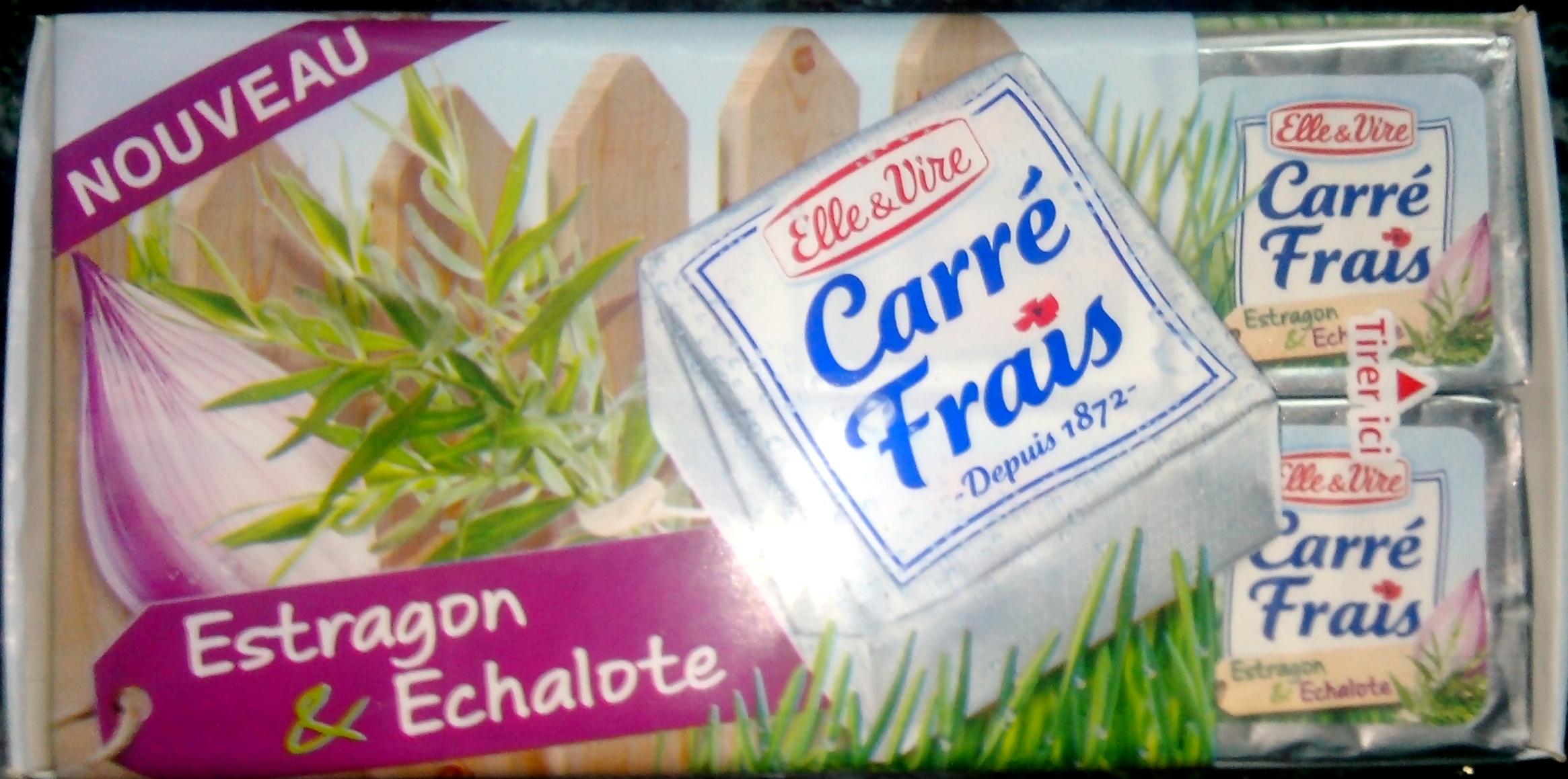 Carré Frais Estragon & Echalote (17,5% MG) - Produit - fr
