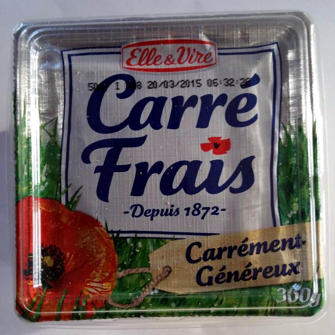 Carré Frais Carrément Généreux - Produit - fr