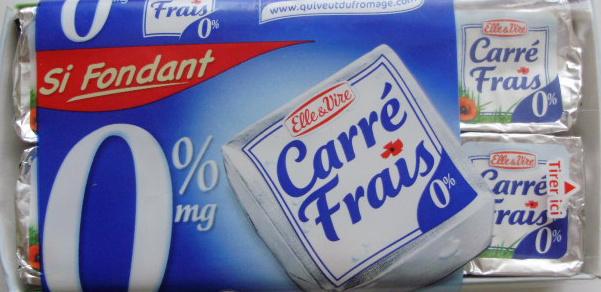 Carré Frais (0% MG) - 200 g - Elle & Vire - Producto