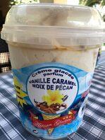 Crème glacée parfum vanille caramel noix de pécan - Produit - fr