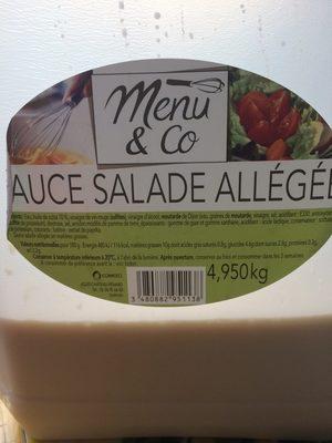 Sauce salade allégée - Produit - fr