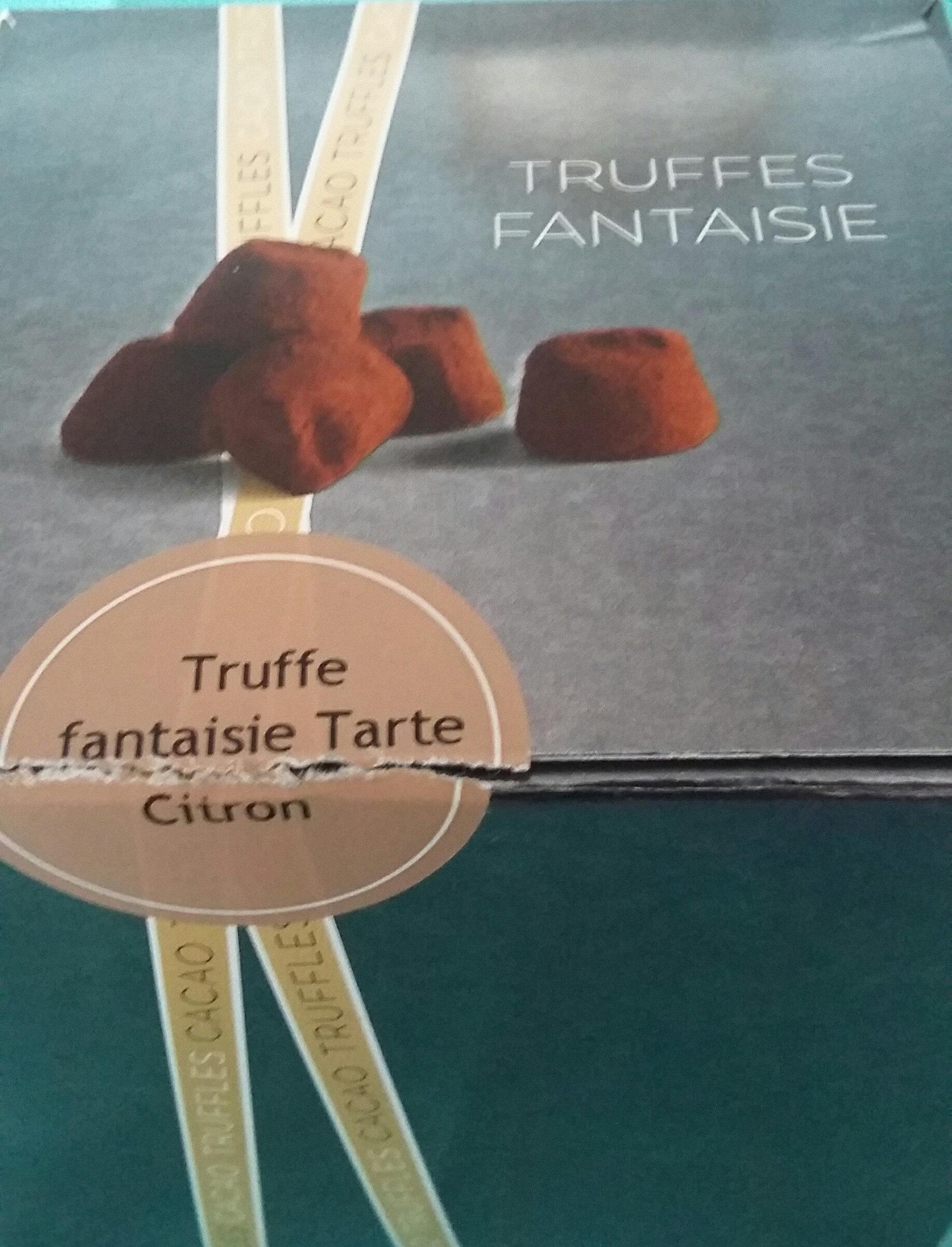 Truffe fantaisie tarte citron - Product