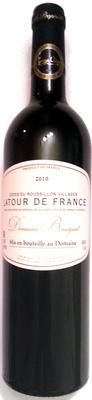 Côtes du Roussillon Villages - Latour de France - 2010 - Produit