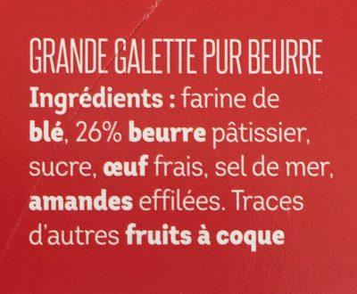 Broyé Du Poitou - Ingredients