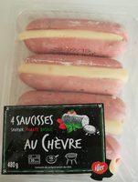 Saucisses au chevre - Product