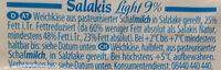 Fromage brebis light - Ingredienti - de