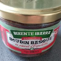 Boudin Basque au piment d'Espelette - Product