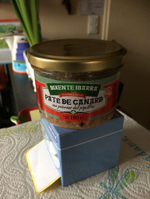 Paté de canard piment espelette - Product