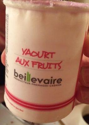 Yahourt aux fruits / cassis - Produit - fr