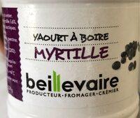 Yaourt a boire Myrtille - Product