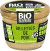 Rillettes de  porc bio - Produit