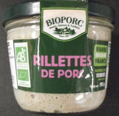 RILLETTES DE PORC - Product - fr