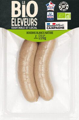 BOUDINS BLANCS NATURE - Produit - fr