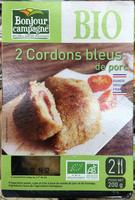 2 cordons bleus de porc - Product - fr