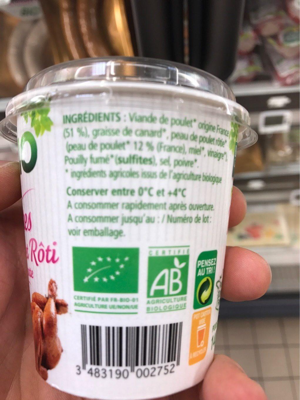 Rillettes de Poulet Rôti en Cocotte - Product - fr