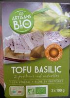 Tofu Basilic - Produkt - fr