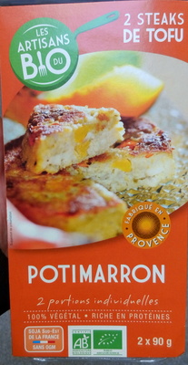 Steak de Tofu Potimarron Bio - Produit